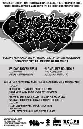 Conscious Styles November 5