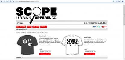 Scope Urban Apparel Updates