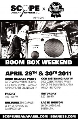 Boom Box Weekend