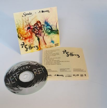 DIY CD's – The Jeffrey Physical Bootlegs [8.5×11 CD Case Template Included]