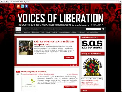 Voices of Liberation .org