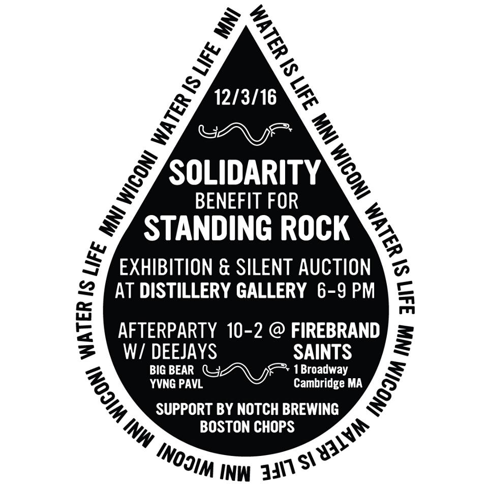 Art Auction Benefit For Standing Rock