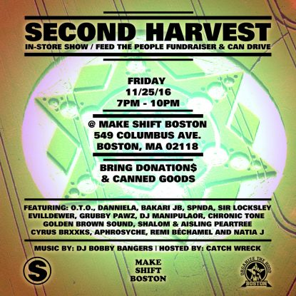 Second Harvest – Feed the Hood Benefit Show