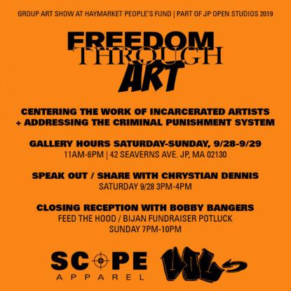 JP Open Studios: Freedom Through Art