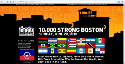 3rd Annual 10,000 Strong Boston