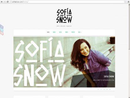 Sofia Snow .com