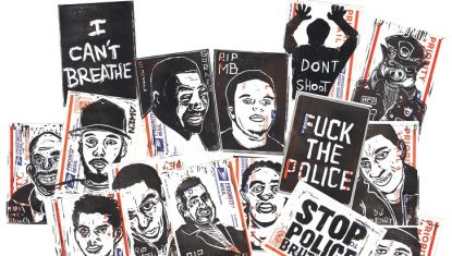 Gallery + Interview: Major Group Art Show Takes Aim at Police Violence